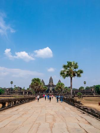 Road to Angkor Wat