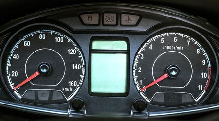 motorcycle speedometer Stockfoto