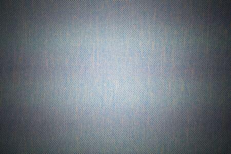 Blau-weißer Webstoff für den Hintergrund oder die Oberfläche Standard-Bild