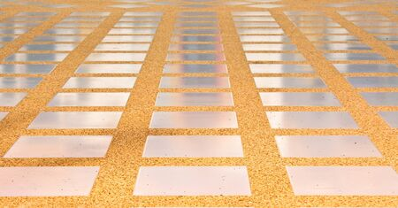 Mosaic background Walk way Stock Photo - 9408164