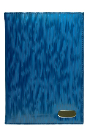 Leather cover of notebook Stock Photo - 9580290