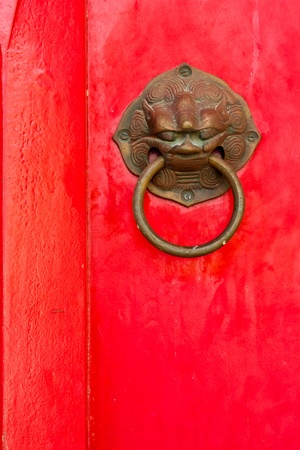 Chinese knock door style