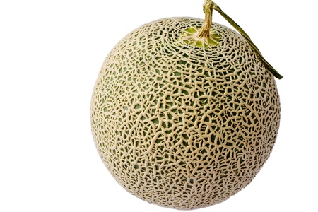 Melon from Japan in isolation Stock Photo