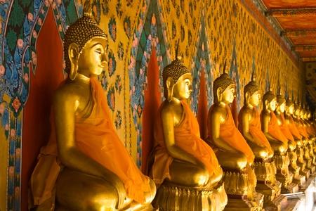Budha statue at Wat Arun Bangkok Thailand