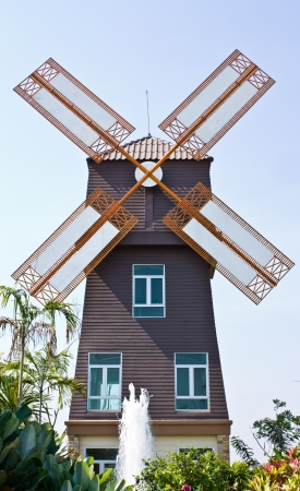 traditional windmill: Denmark Style wind mill