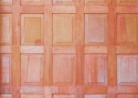 Thai style sand stone partition Stock Photo