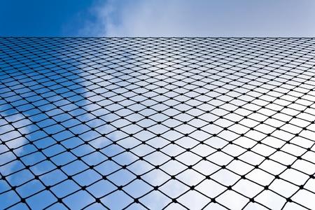 Net with blue sky