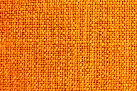close up of orange fabric texture for background Stock Photo - 10640830
