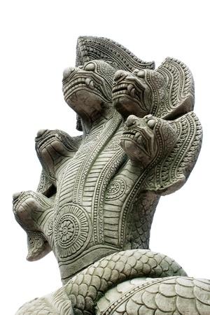 Cambodian statue  Naga