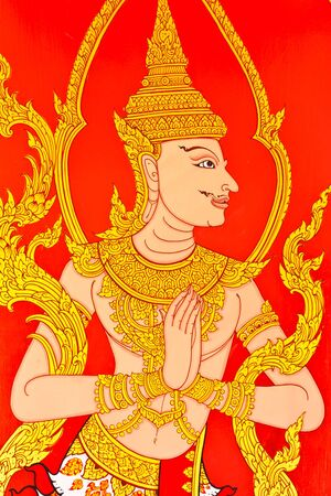 thai painting art Stock Photo - 10784751
