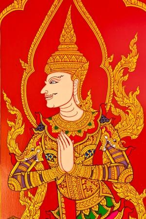 thai painting art  Editorial