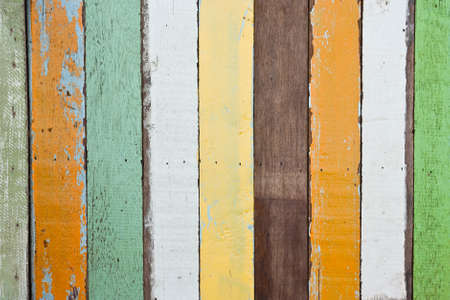 Abstract grunge wood stripes pattern texture background colorful photo