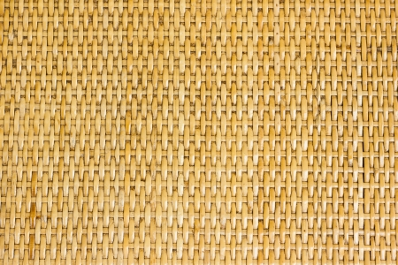 Thai handcraft of bamboo weave pattern for background use