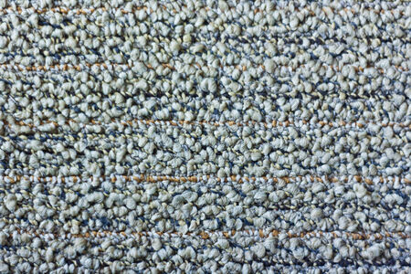 Close up view of gray carpet texture background photo