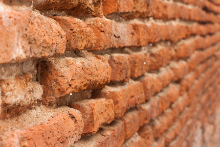 old brick wall background, old brick wall texture Stock Photo