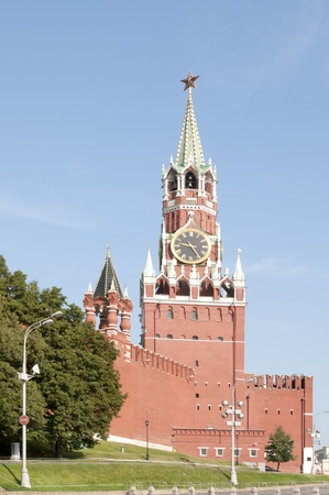 spassky: Spassky Tower Stock Photo