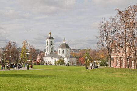 tsaritsino: Church in Tsaritsino, Moscow  Editorial