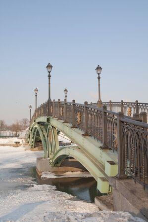 tsaritsino: Bridge in Tsaritsino, Moscow