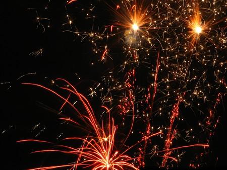 salutes: Fireworks