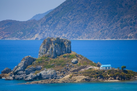Greece Kefalos Kos island Kastri Standard-Bild