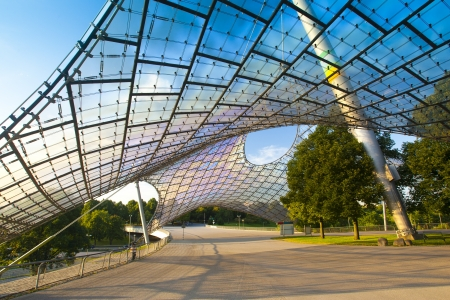 olympic stadium: Munich Olympic Park Editorial