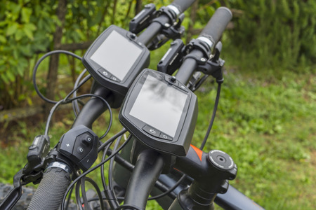 On-board displays on modern Ebikes