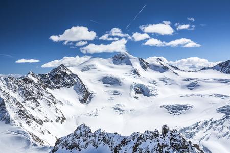 Gipfelpanorama Wildspitze, Pitztal, Österreich