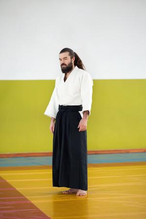 drop off: An Aikido instructor