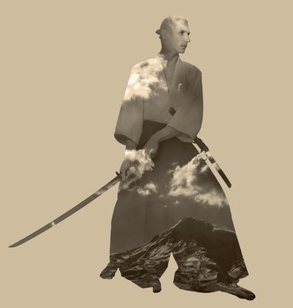 A man with katana