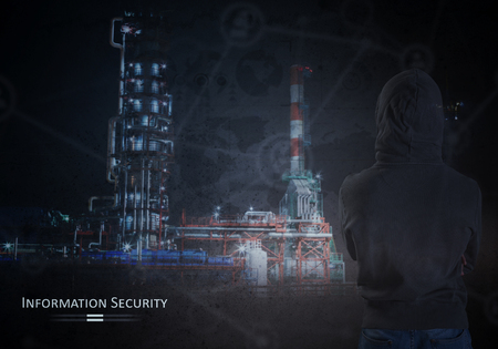 Information Security Concept Stockfoto