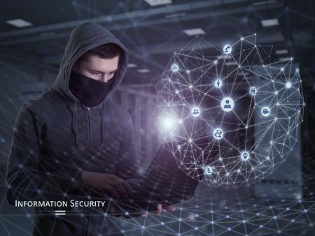 Information Security Concept 写真素材