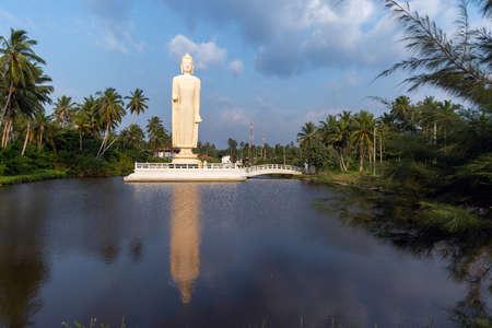 Buddha Statue - Tsunami Memorial in Peraliya, Sri Lanka
