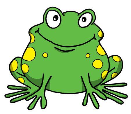 幸せカエルのベクトルの漫画