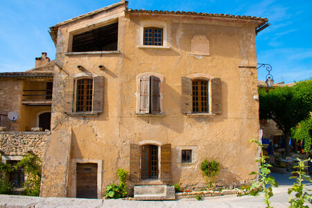 the luberon: Beautiful house in Opedde le vieux belonging to the Provence in Luberon France Editorial