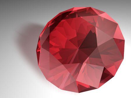 edelstenen: Geboortesteen voor juli-Red Ruby