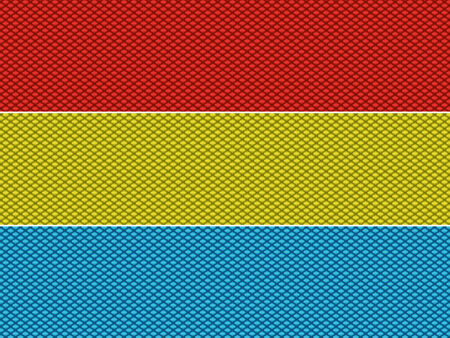 scalable: Scalable weave fabric imitation editable colorful pattern Illustration