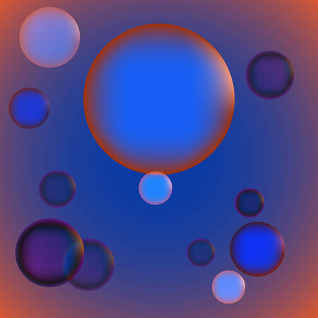 moody: Abstract mood volume colorful bubbles background