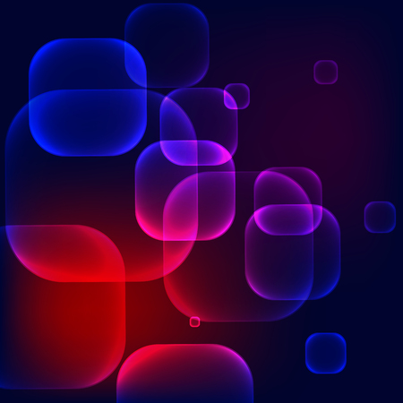 colors background: Abstract vector dark colorful squared bubbles background