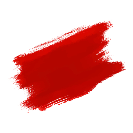 Abstract hand painted textured ink brush background with dry edges