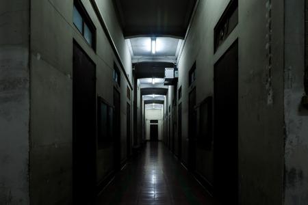fantastical: dark way perspective concept