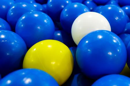 balls in ball house play ground for kids background Zdjęcie Seryjne