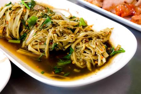 thai cuisine Spicy Bamboo Shoot Salad