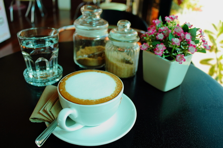 potation: I drink a cup of coffee one afternoon.