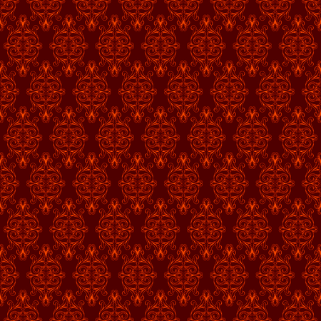 The Vector image of  decorative seamless structure Vector