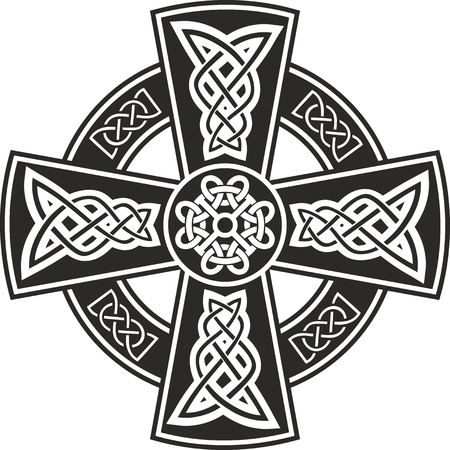 celtic culture: Celtic cross