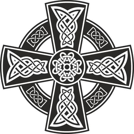abstract cross: Croce celtica Vettoriali