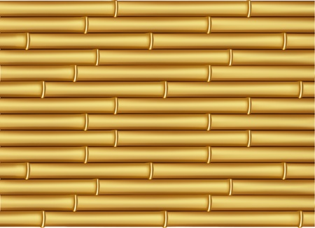 Vector image bamboo textured Stock Vector - 12389285