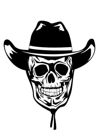 Vector illustration cowboy Stock Vector - 13060859