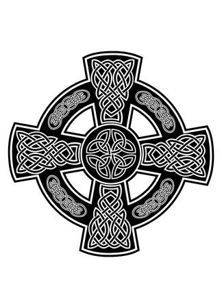 celtico: immagine croce celtica con i modelli