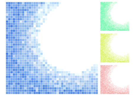 Vector illustration of an abstract background with mosaic Vector